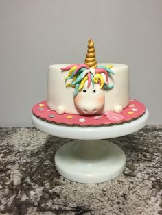 Pastel de unicornio por https://www.facebook.com/Nekutic/