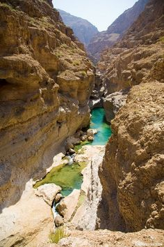 Wadi Shab, the greatest place on Earth