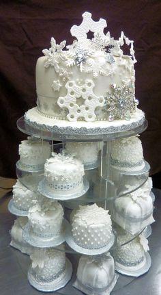 mini wedding cakes - Google Search