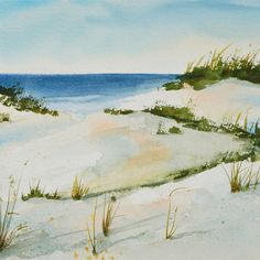 BEACH SAND DUNES ORIGINAL PAINTING REALISM BY ARTIST PJ COOK SIGNED NEW NR #Realism
