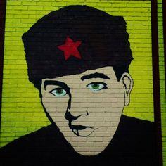 Elvis, Communist. Boston, MA. 23FEB13.