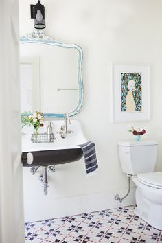 One Look At Foxfire Mountain House And We Guarantee You'll Want To Stay Forever Hall Bathroom, Bathroom Renos, Laundry In Bathroom, Bathroom Interior, Bathroom Stuff, 2 Bed House, Beautiful Bathrooms, First Home, Bathroom Inspiration