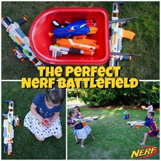 The Perfect Nerf Battlefield #sponsored