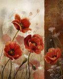 Wild Poppies II Pósters por Conrad Knutsen