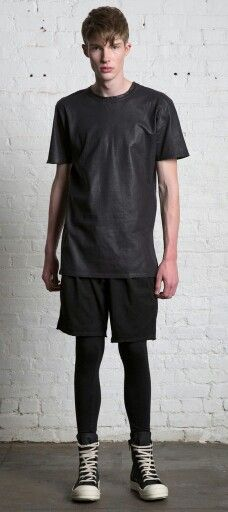 Meggings and shorts