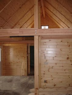 Attractive Faux Log Cabin Interior Walls | Interior Log Paneling