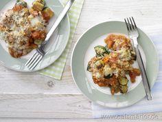 Zucchini-Tomaten-Auflauf mit Manchego - smarter - Kalorien: 241 Kcal | Zeit: 65 min.