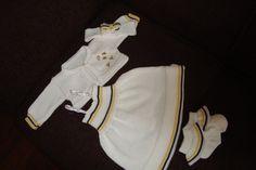 conjunto vestido abelhinha | yuskytricoamáquina | Elo7
