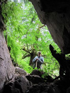 Devils Bath Sinkhole and Bath Walk in Cave  GC2Q4WB(Earthcache) in British Columbia, Canada created by grafinator