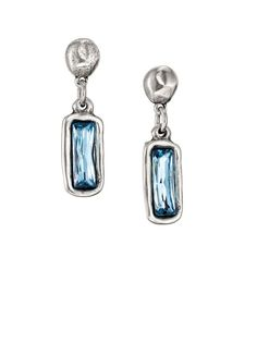dc8eb22d9ca3 Lantern Crystal Dangle Earrings from Uno de 50 at Art Effect boutique in  Chicago. Leather