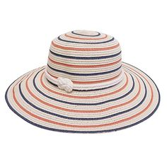 a10e79b2f57 Women s Barbour Sealand Sun Hat - Red Stripe (250 CNY) ❤ liked on ...