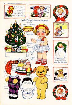 Dolly Dingle's Busy Christmas