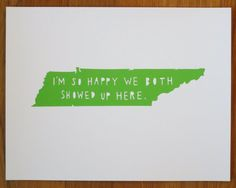 TENNESSEEI'm So Happy by TwoSarahs on Etsy