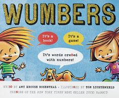 Kids' books we love - Wumbers Written by Amy Rosenthal