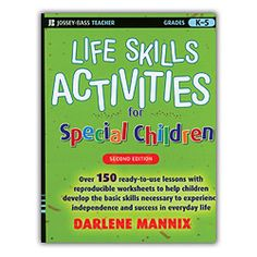 """180 lessons with reproducibles that focus on the basic """"survival"""" skills needed for both school and daily living. Books builds skills in: interpersonal, communication, academic, practical living, vocational, lifestyle choices, and problem-solving."""