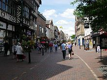 Stafford  town centre - Wikipedia, the free encyclopedia