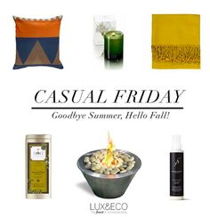 Do you have all you need to make the transition to Fall? Tag a friend who loves this season! #casualfriday #relaxation #candles #relax #fall #falldecor #homedesign #homedecor #eco #ecoluxury #casualfriday #decor #luxuryliving #ecohome #ecolifestyle #sustainable #furniture #ecofurniture #autumn #hellofall #weekendready #luxandeco