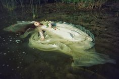 """Ophelia"" photo by Voodica / model: Kaja / mua: Sonia Osiecka / Pria make up"