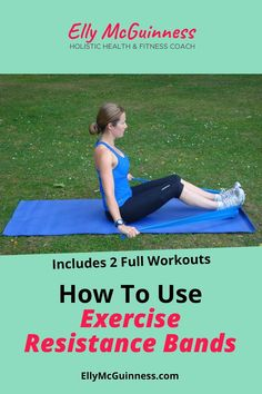 Your complete how-to guide for exercise resistance bands. Learn about the different types and colors, plus 2 workouts you can try. Resistance bands are an awesome, lightweight and portable alternative to weight machines and dumbbells.  #workouts #workouttips #workoutideas #resistanceworkouts #athomeworkouts #workout #workoutadvice #exerciseadvice #fitnessadvice #resistancebands #resistancetraining #muscletoningworkouts #workoutsathome #simpleworkouts Weight Loss For Men, Lose Weight In A Week, Resistance Workout, Resistance Band Exercises, Healthy Moms, Compound Exercises, Health And Wellness Coach, Core Muscles, Workout Guide