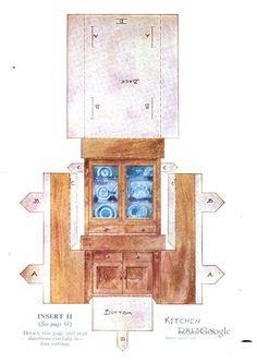 Bilderesultat for mary frances paper dolls Paper Doll House, Doll House Crafts, Paper Houses, Paper Furniture, Barbie Furniture, Dollhouse Furniture, Diy Dollhouse, Cigar Box Projects, Paper Dolls Clothing