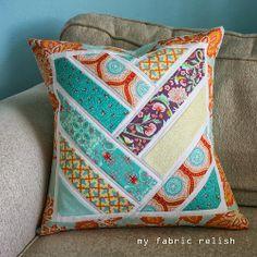 My Fabric Relish, Broken Herringbone pattern.
