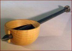Artist Jon Delp / Found Object Spoon   2014 Maple, Steel nail