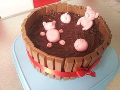 Die Hobbykochbäcker: Schweine im Schlammbad - Torte
