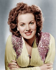 Maureen O'Hara -- (8/17/1920-10/24/2015). Irish-American Actress & Singer…