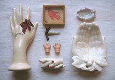 curios, decor, hand collect, hands, diy gift