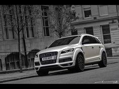 2012 Audi Q7 by Kahn Design. Family car level: Badass!