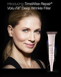 Using new TimeWise Repair™ Volu-Fill™ Deep Wrinkle Filler from Mary Kay, 100 percent of women showed an improvement in the appearance of wrinkle severity.