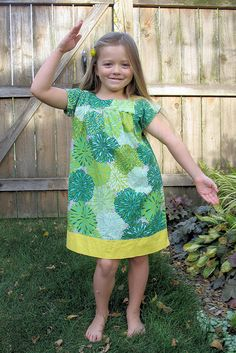 Ice Cream Dress Oliver + S sewing pattern sewn by heartlandhappy, via Flickr