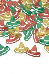 Confettis de table sombrero