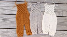 Newborn baby boy or girl hand knitted Romper Overall/ Luxury yarn Photography Prop/ Merino Wool Romper by MyLittleKnits on Etsy