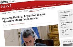 Piedra OnLine: Panamá Papers: la imputación contra Macri recorre ...
