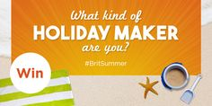 """I got """"The city breaker"""" on """"What kind of holiday maker are you?"""" What about you?"""