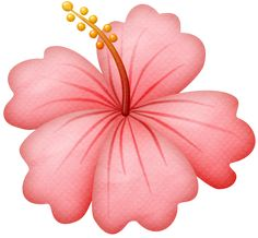 """Photo from album """"Beach Girls"""" on Yandex. 2 Clipart, Flower Clipart, Big Flowers, Flowers Nature, Free Watercolor Flowers, Rose Drawing Tattoo, Beautiful Flowers Wallpapers, Rose Images, Hawaiian Flowers"""