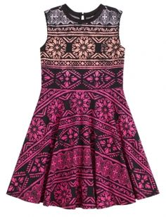 Shop High Neck Fit & Flare Dress and other trendy girls dresses clothes at Justice. Find the cutest girls clothes to make a statement today.