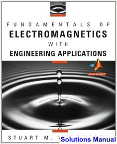 You will download digital wordpdf files for complete solution solutions manual for fundamentals of electromagnetics with engineering applications 1st edition by wentworth fandeluxe Choice Image