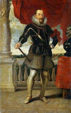 Portrait of King Sigismund III Vasa by Pieter Claesz Soutman, Alte Pinakothek in Munich. Poland History, Catholic Doctrine, Art Eras, Medieval Helmets, Renaissance Portraits, Landsknecht, Grand Duke, Museum, Beautiful Paintings