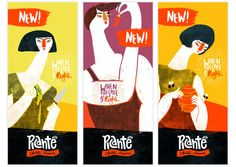 PICANTE CHILLI SAUCE by Sonia Dearling, via Behance, interesting #label #design PD