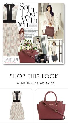 """Seol Hyun"" by warna ❤ liked on Polyvore featuring Lattori, MICHAEL Michael Kors and Shiseido"