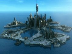 Atlantis City / starship ?