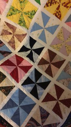 Second Quilt by Barbara D. of Ohio she personally delivered to Westerville Communications dispatchers!