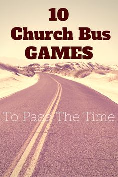 """Your youth group is ready to be load onto the bus. There is excitement in the air. With this comes the dreaded question, """"are we there yet""""? So what are some great games to help keep the youth on the church bus entertained? Here are 10 that may help. BINGO! Who doesn't like bingo? Travel bingo is a [...]"""