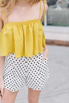 The Emmy Polka Dot Shorts