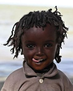 So beautiful !! stunning girl's face from Ethiopia