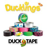 Excellent for repair, crafting, and imaginative projects. High performance strength and adhesion characteristics. Tears easily by hand without curling and conforms to uneven surfaces. Ducklings™ are perfect for small repairs, trimming out projects or for when you just need a little tape!