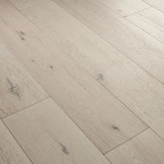 Fusion Polar Oak Brush Matt Lacquered Loc Engineered Flooring