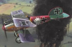 Model Airplanes, Wwi
